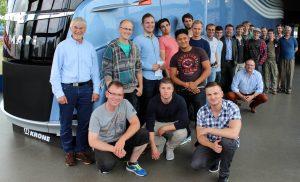 Fachschule Technik besucht Aufbauhersteller Krone