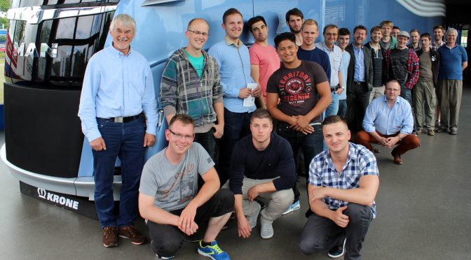 Fachschule Technik besucht Krone Fahrzeugbau